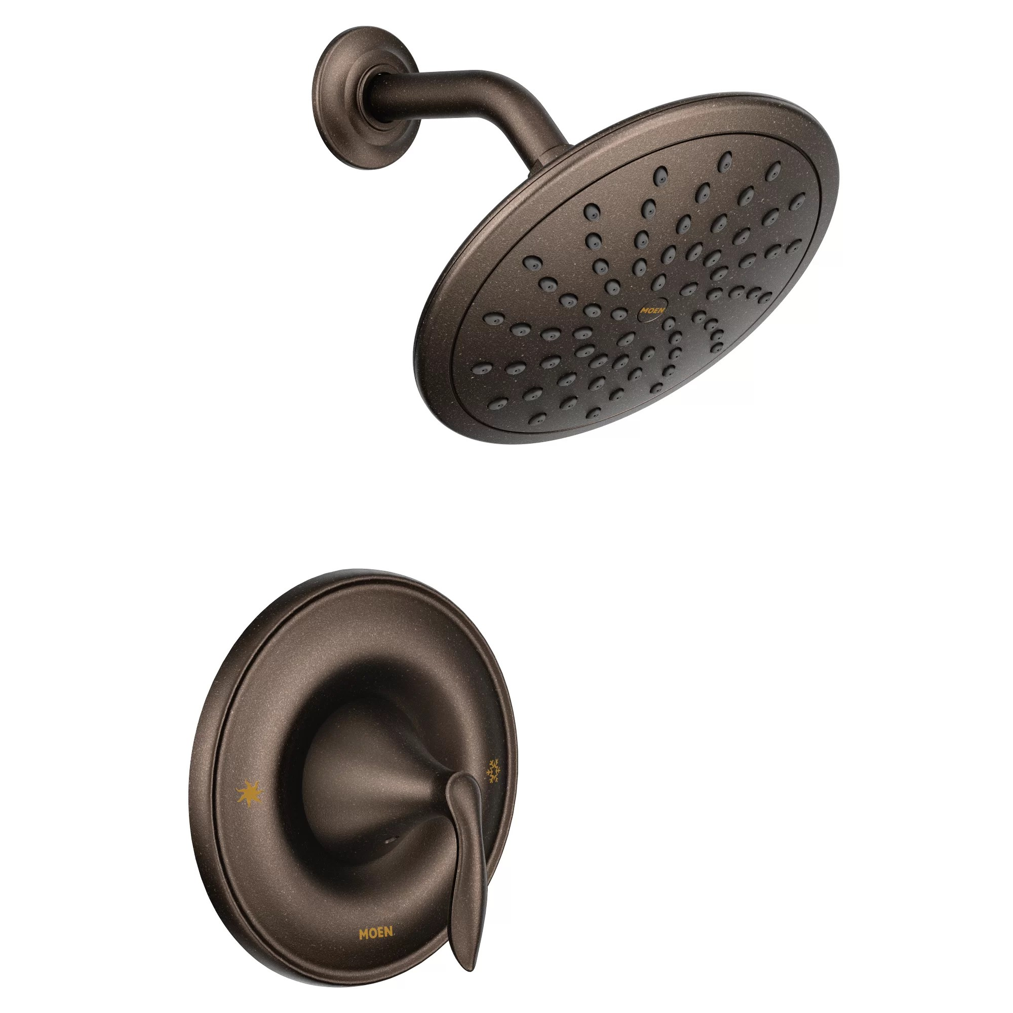 Eva Diverter Shower Faucet With Lever Handle