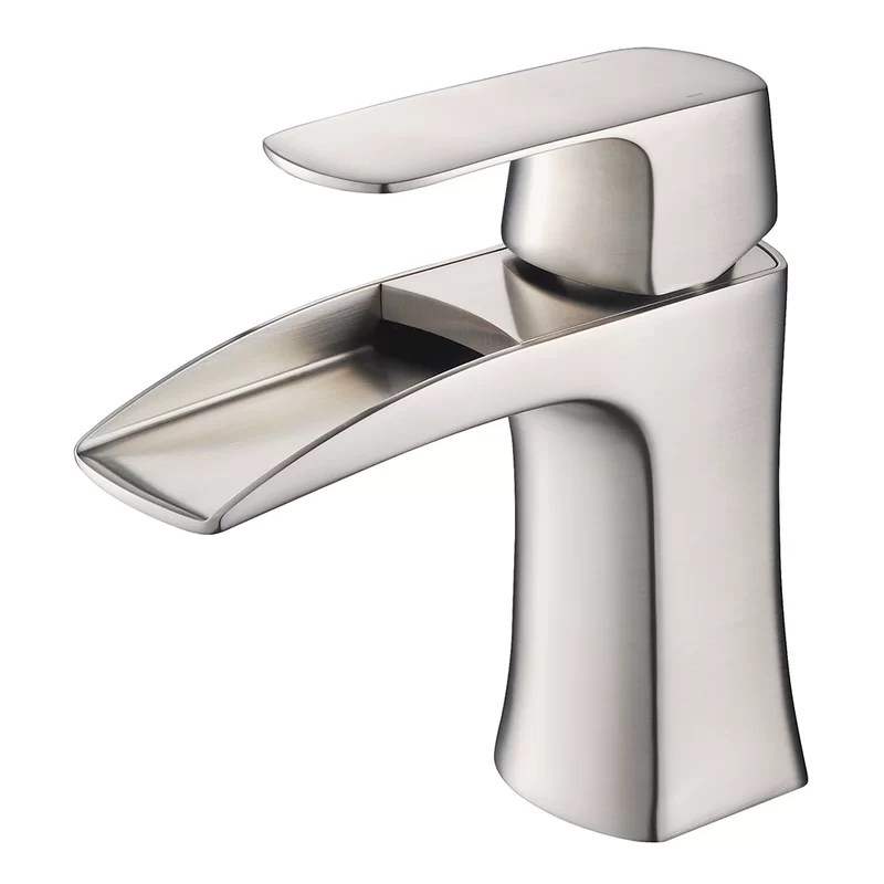 fortore single hole waterfall faucet