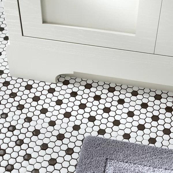 4 inch hex tile