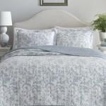 Bahama Plantation Floral 100 Cotton Queen Size Quilt Set Bedspread Coverlet Home Garden Bedding