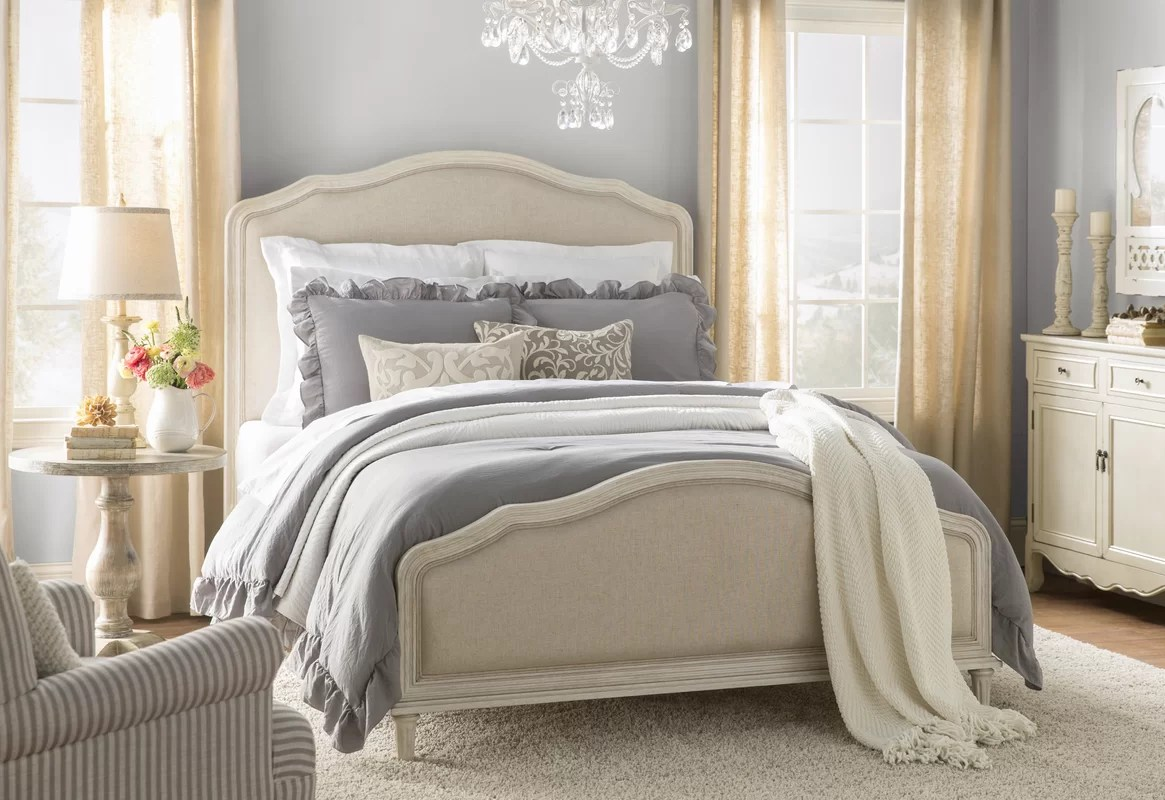 Birch Lane™ Watson Upholstered Panel Bed & Reviews