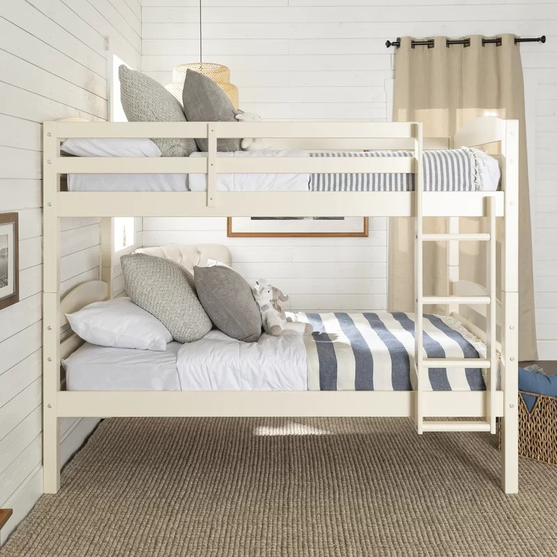 Bunk Bed With Stairs Twin Over Twin