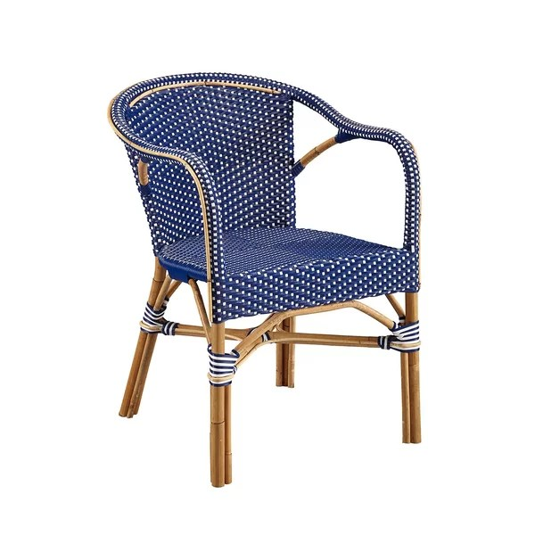 Blue French Bistro Chairs   Wayfair