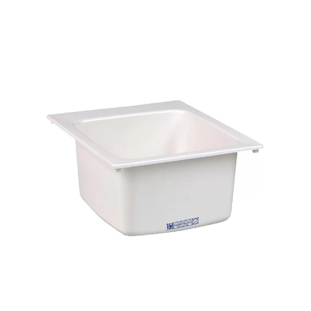 durastone 20 x 17 drop in laundry sink