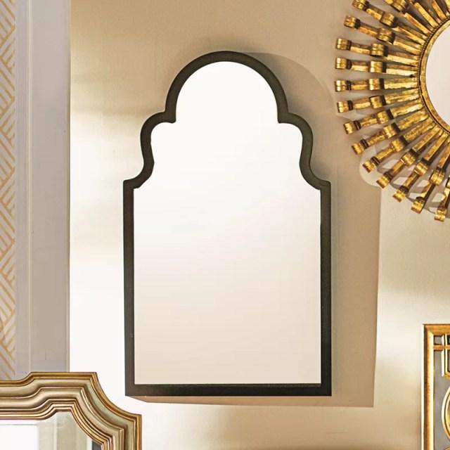 Fifi Contemporary Arch Wall Mirror