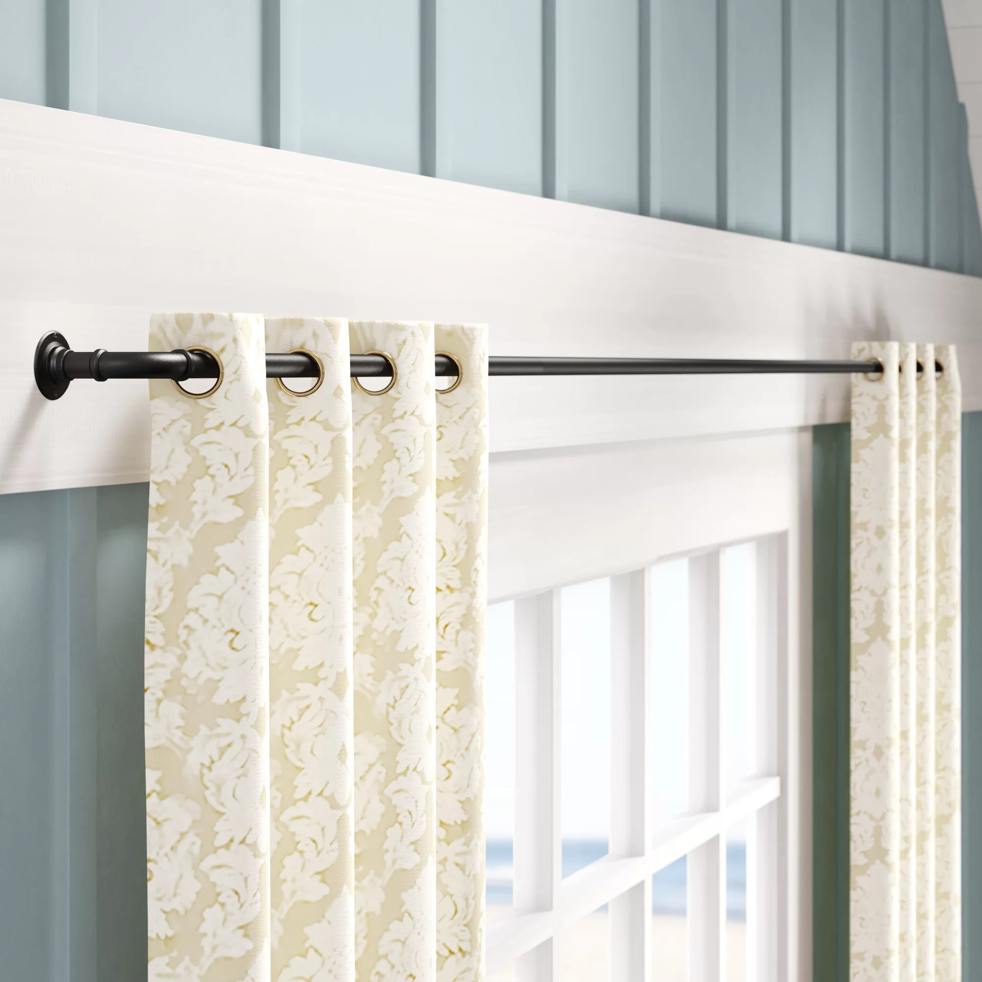 Rods French Doors Curtain Hardware Accessories You Ll Love In 2020 Wayfair