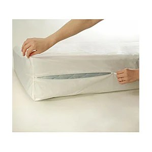 Bed Bug Blocker Zippered Hypoallergenic Waterproof Mattress Protector