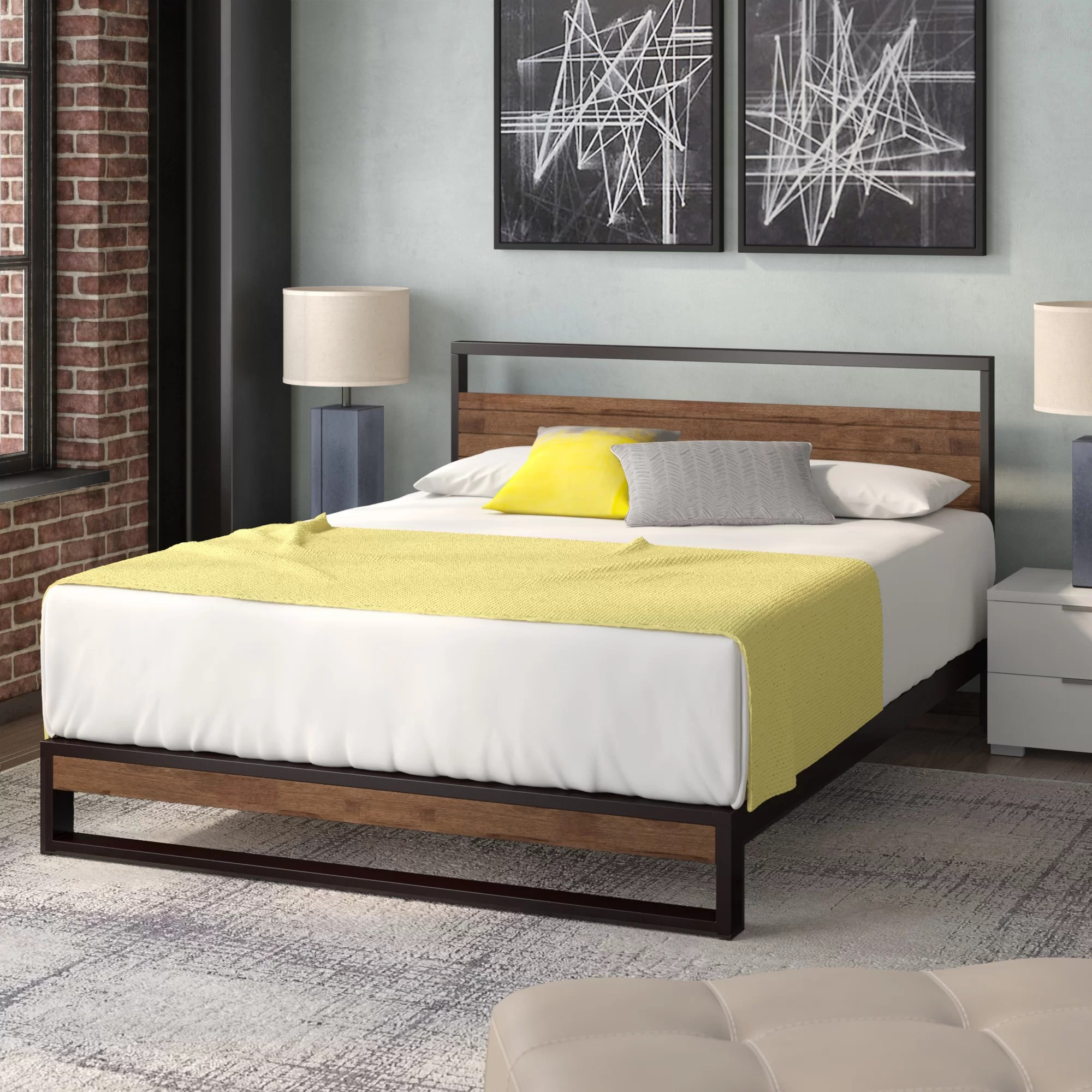 Zipcode Design Pauletta Low Profile Platform Bed Reviews