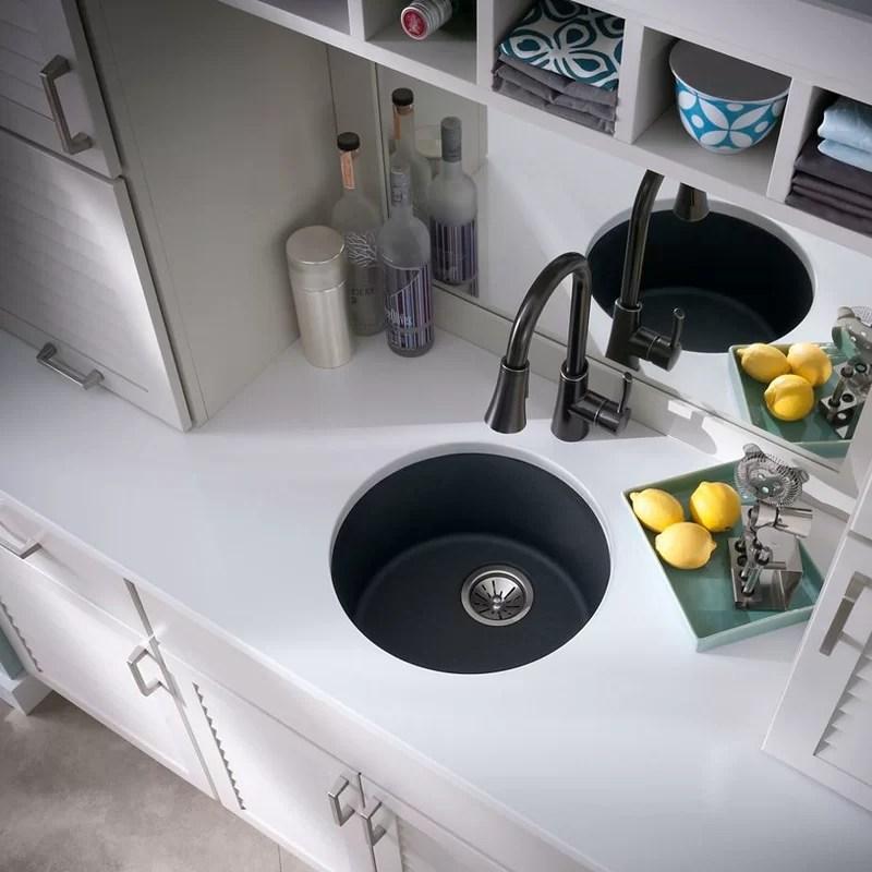 quartz classic 18 l x 18 w dual mount kitchen sink