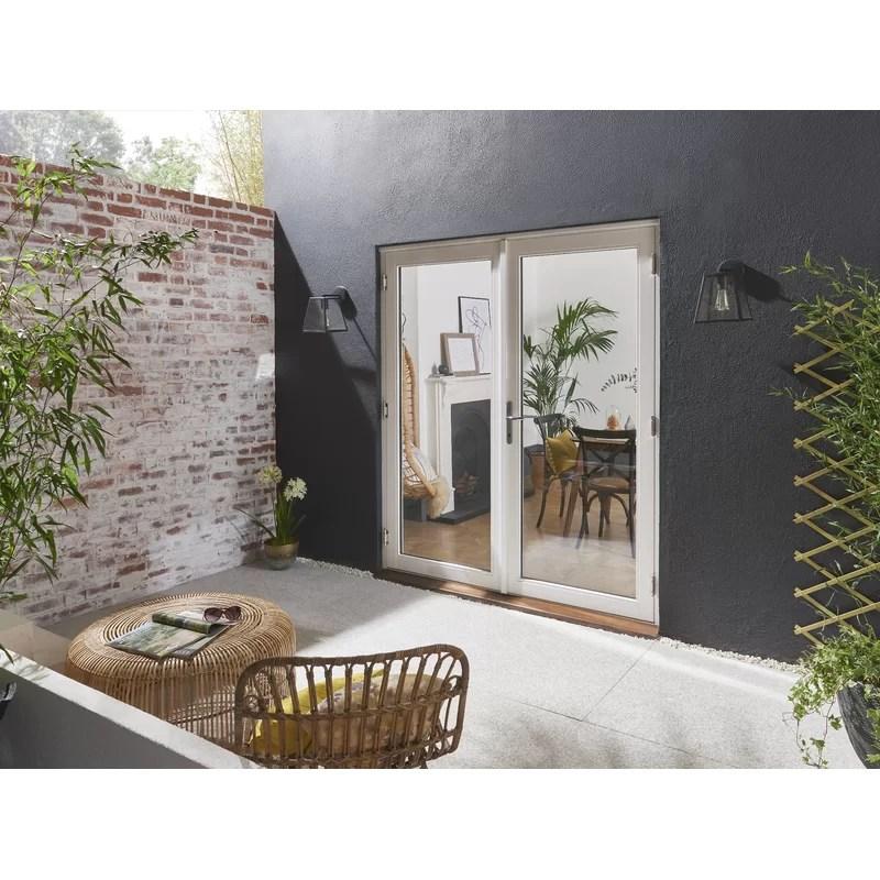 bedgebury wood 2 panel ready to install folding patio door