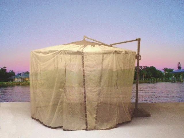 cantilever mosquito umbrella netting