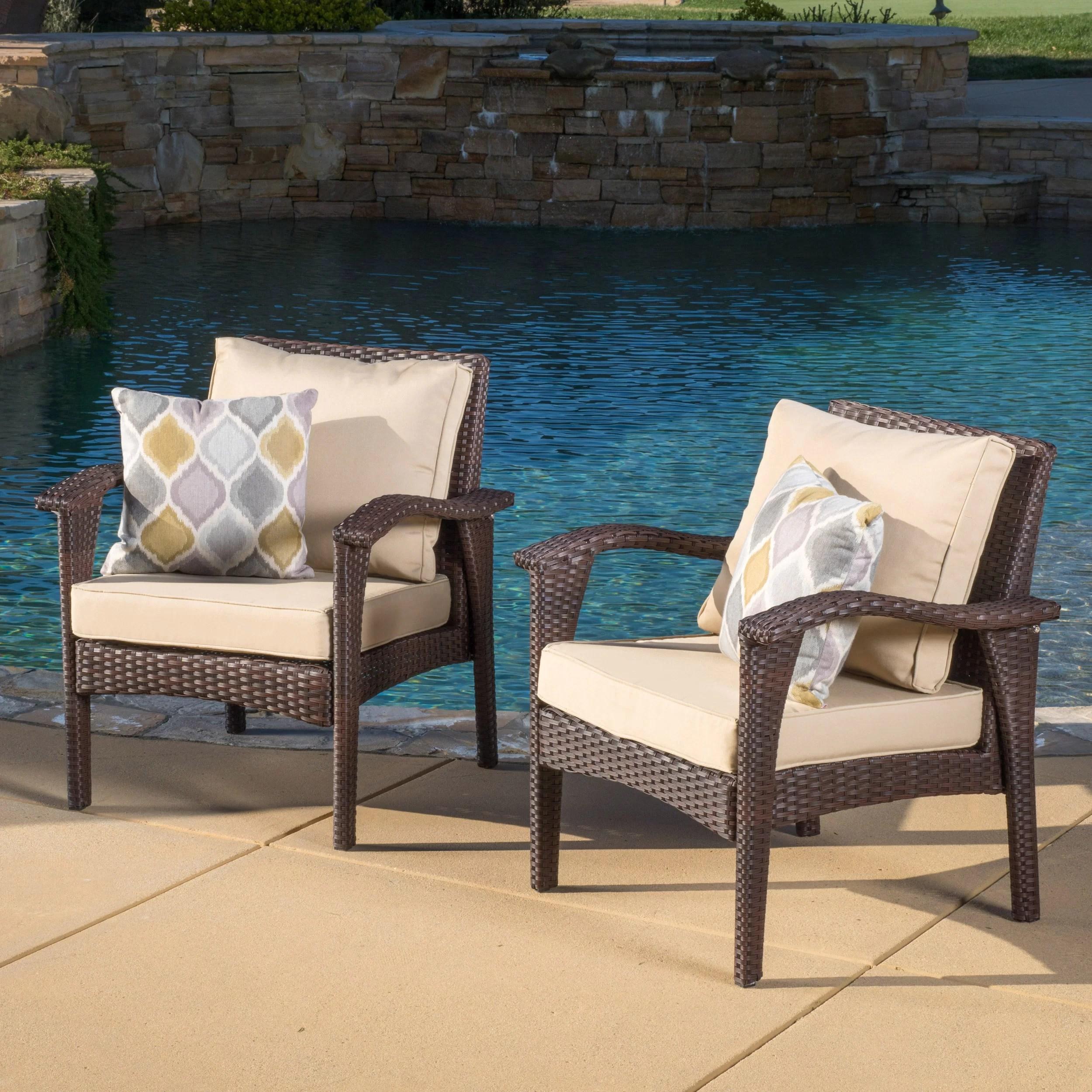 hagler patio chair with cushion