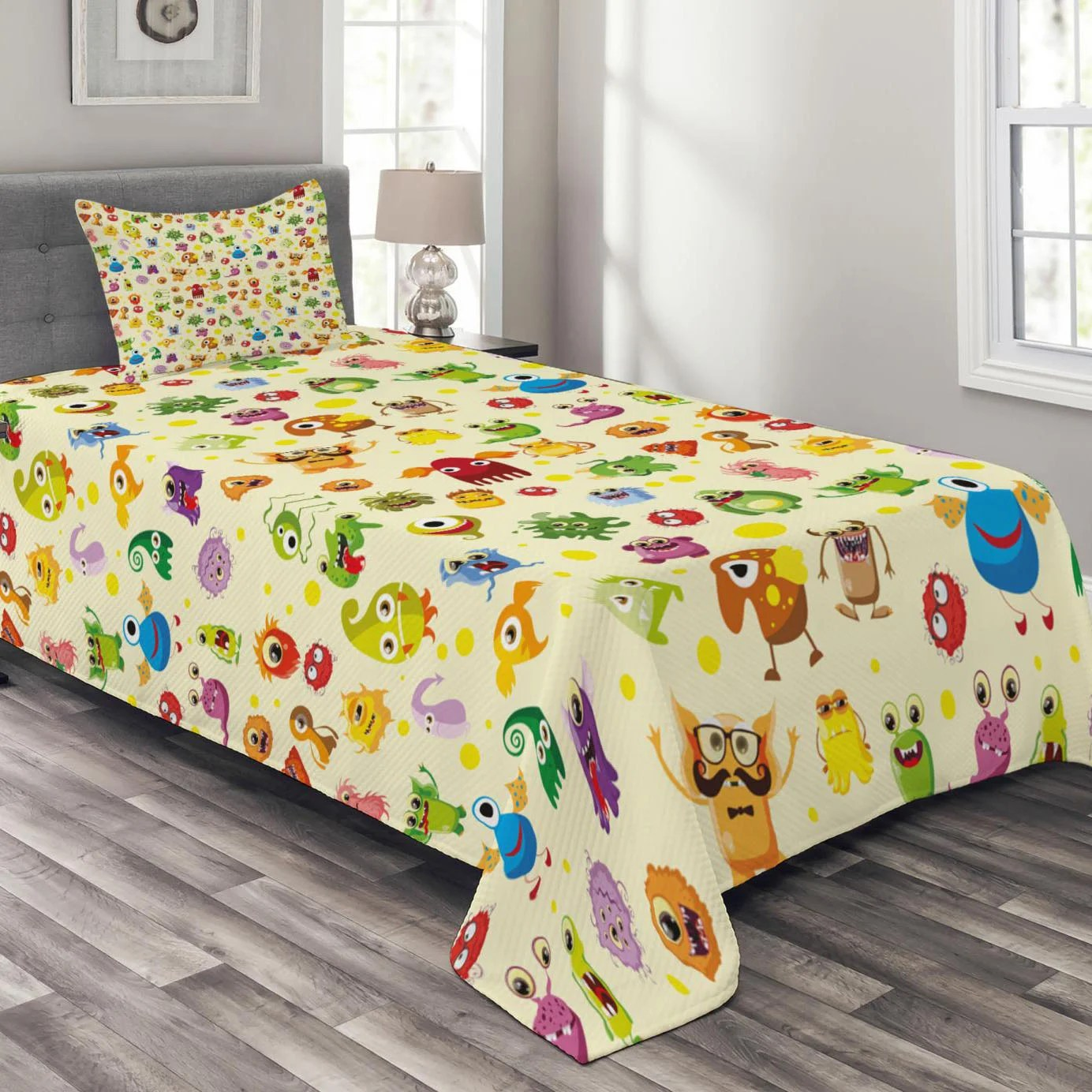 ensemble de couvre lit kids