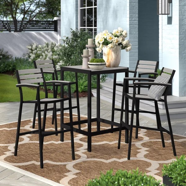bar height outdoor dining sets