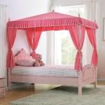 Zoomie Kids Garnett Twin Canopy Bed Wayfair