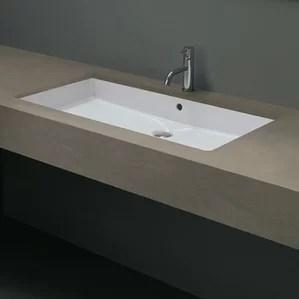 modern undermount bathroom sinks | allmodern