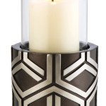 Sintechno Inc Artistic Geometric Candleholder Wayfair