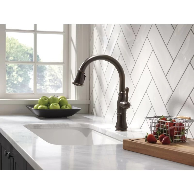 cassidy pull down touch single handle kitchen faucet with magnatite docking