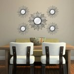 House Of Hampton 5 Piece Manahan Champagne Burst Wall Mirror Set Reviews Wayfair