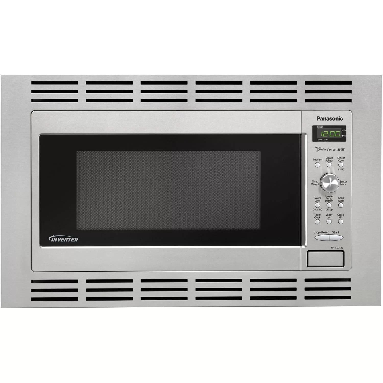 1 6 cu ft microwave 27 stainless steel trim kit