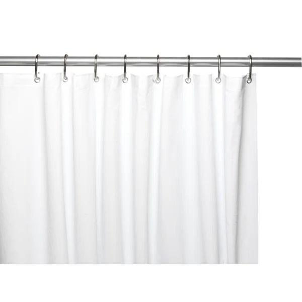 72 x 74 inch shower curtain heavy weight