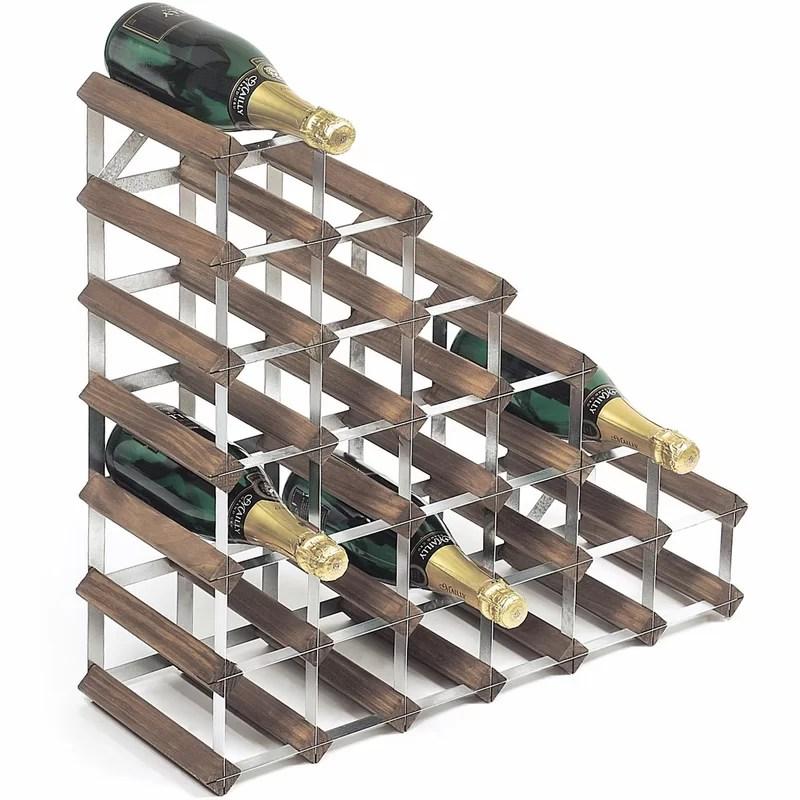 barta 27 bottle wine rack