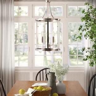 aadhya 3 light lantern cylinder chandelier
