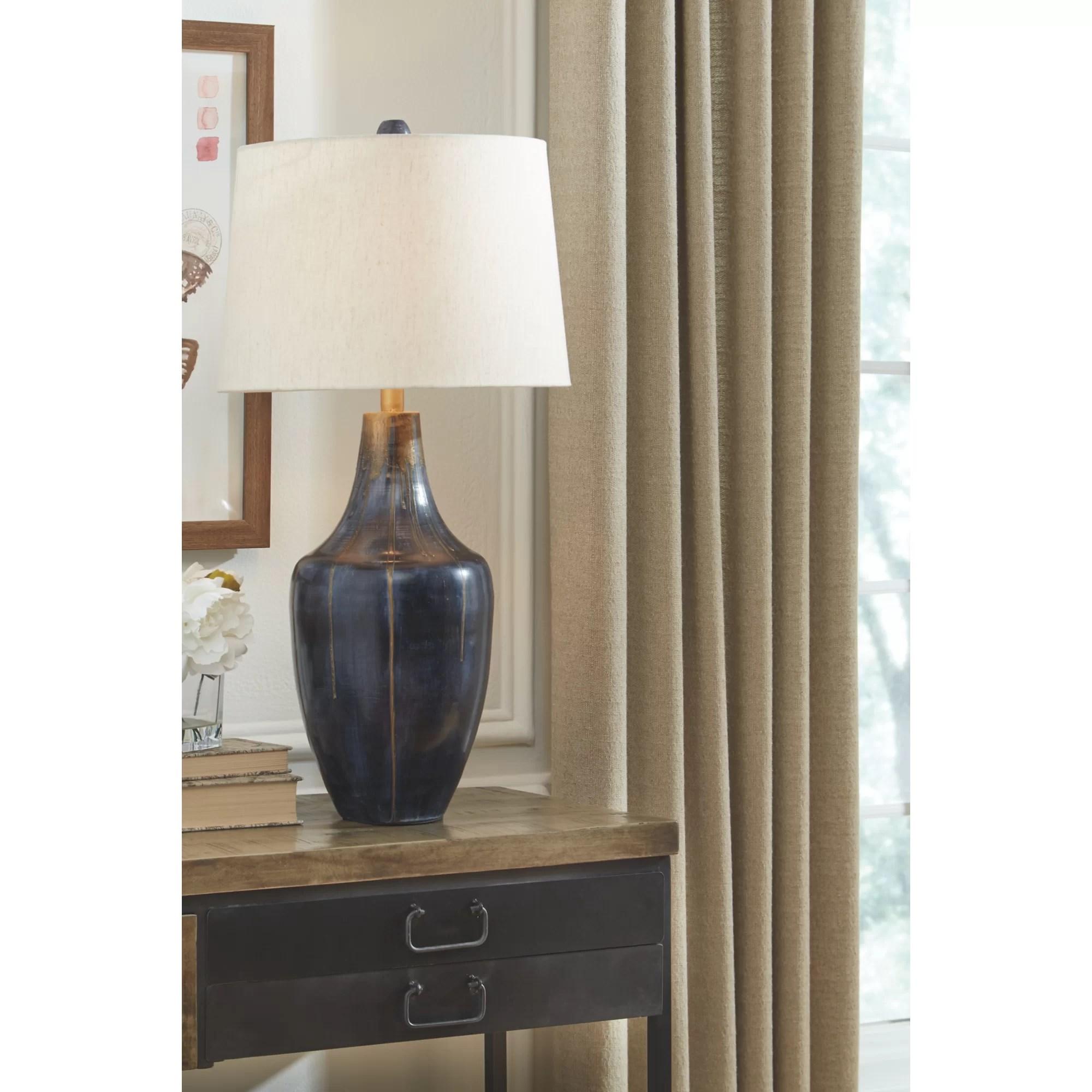jablonski 31 indigo table lamp