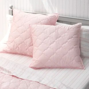 pink pillow shams euro shams free