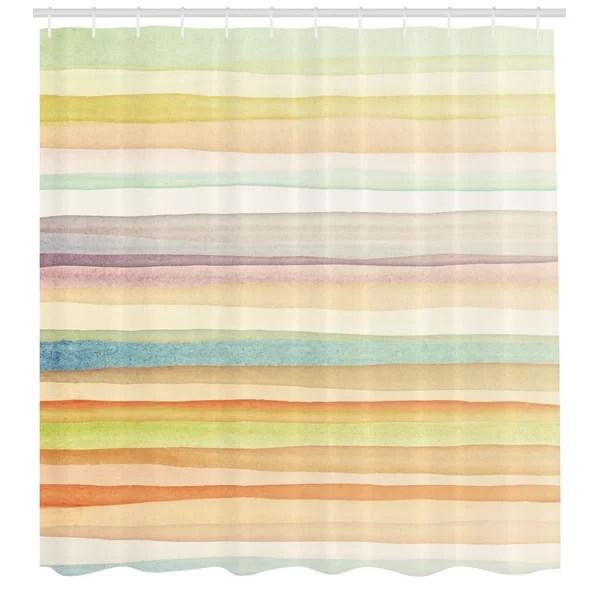 pastel shower curtain
