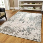 Williston Forge Kinde Abstract Beige Brown Teal Indoor Outdoor Area Rug Reviews
