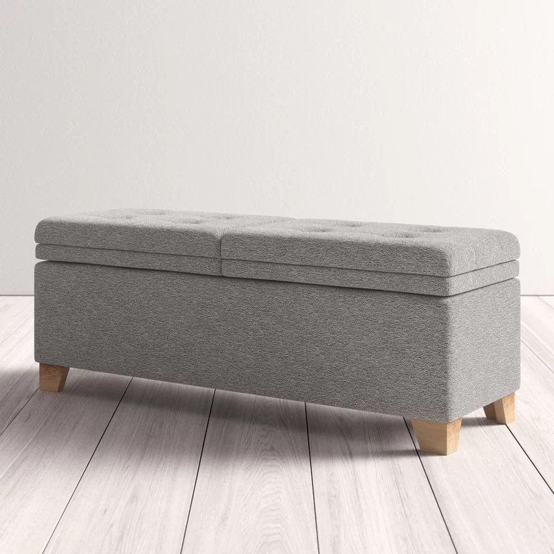 Nixon Upholstered Storage Bench Reviews Allmodern