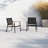 modern small space outdoor furniture