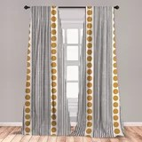 all in one curtains wayfair