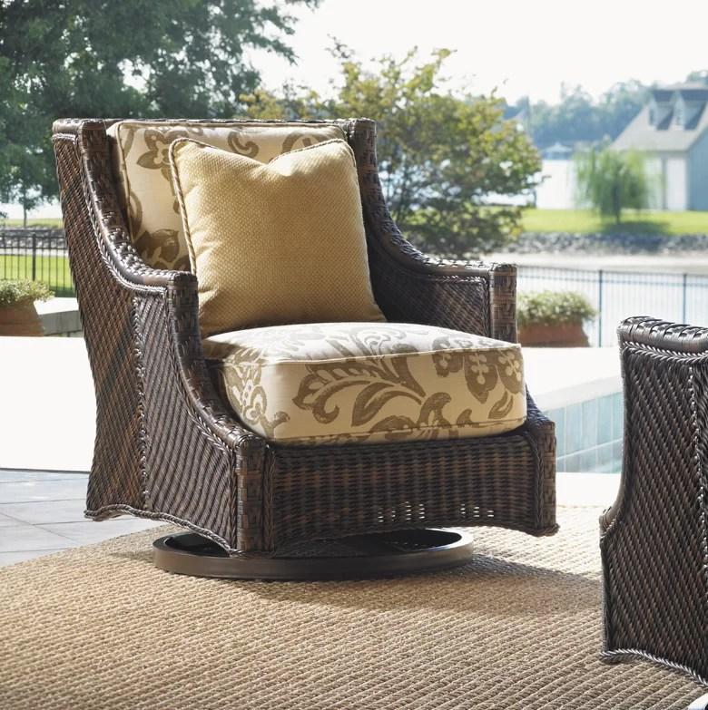 island estate lanai patio chair with cushion