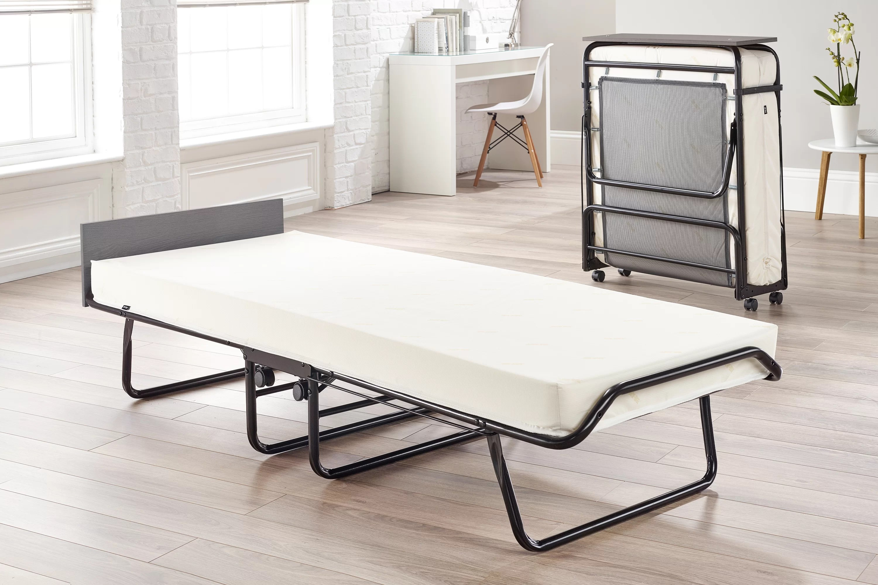 Jay Be Visitor Folding Bed With Memory Foam Mattress