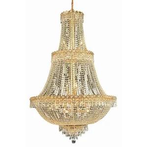Century 17 Light Crystal Chandelier