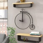 17 Stories Metal Bicycle Wall Decor Reviews