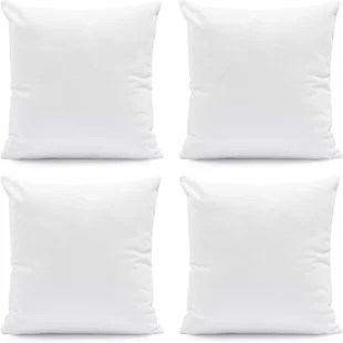 erion outdoor square pillow insert set of 4