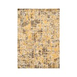 Oriental Rug Of Houston Looped Wool Yellow Gray Area Rug Wayfair