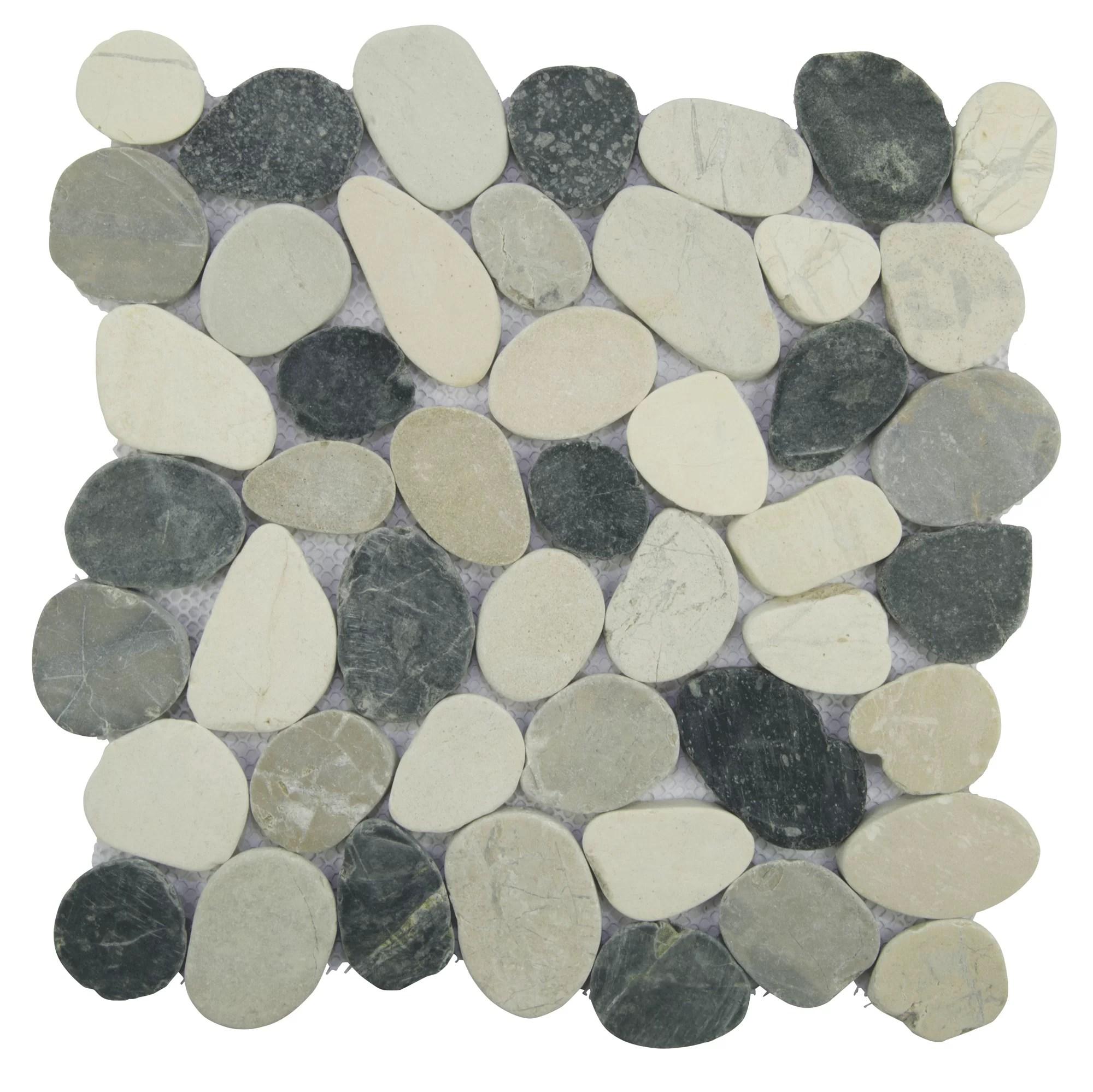 diy materials tan natural round pebble