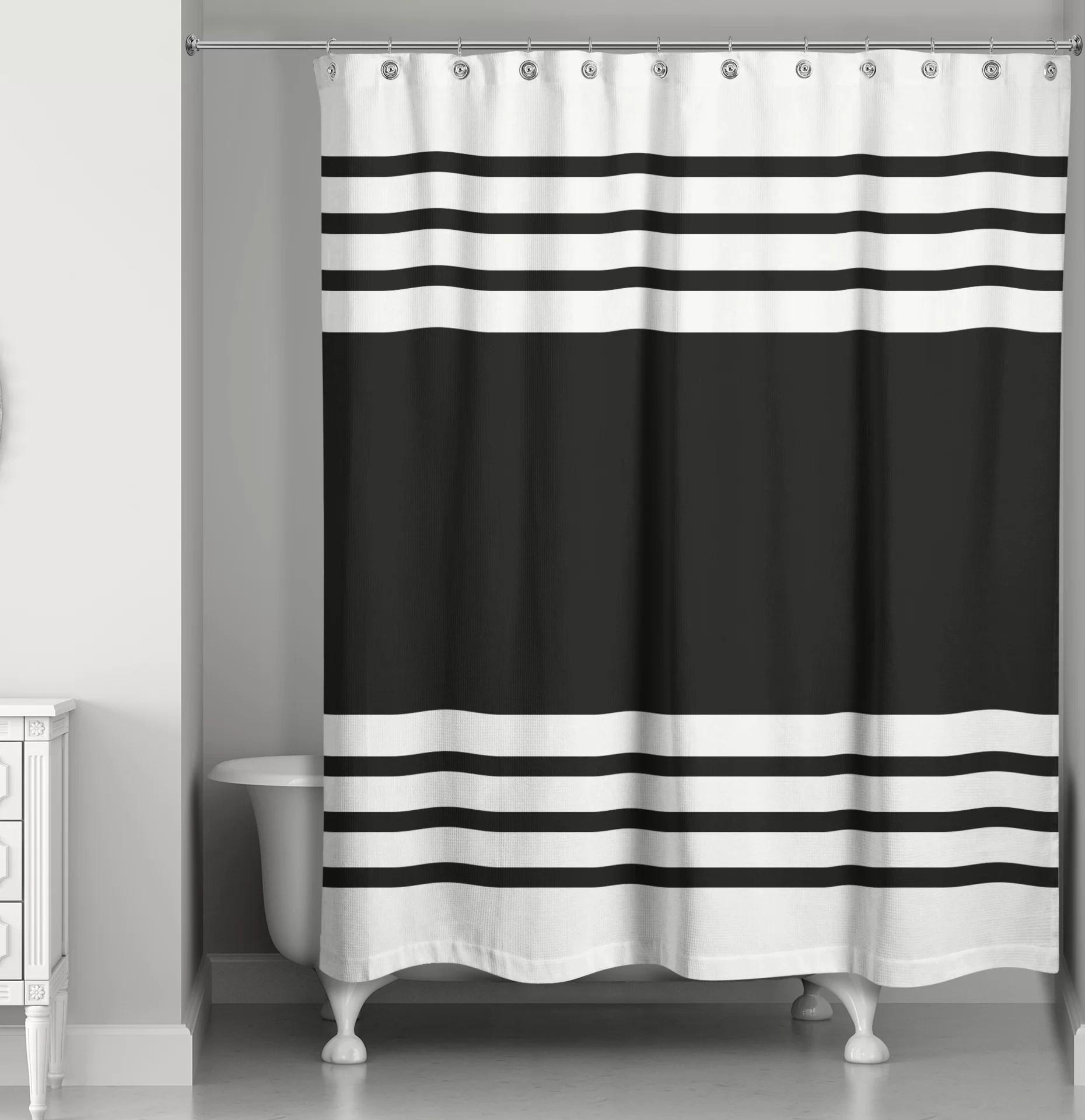 mablethorpe stripe single shower curtain