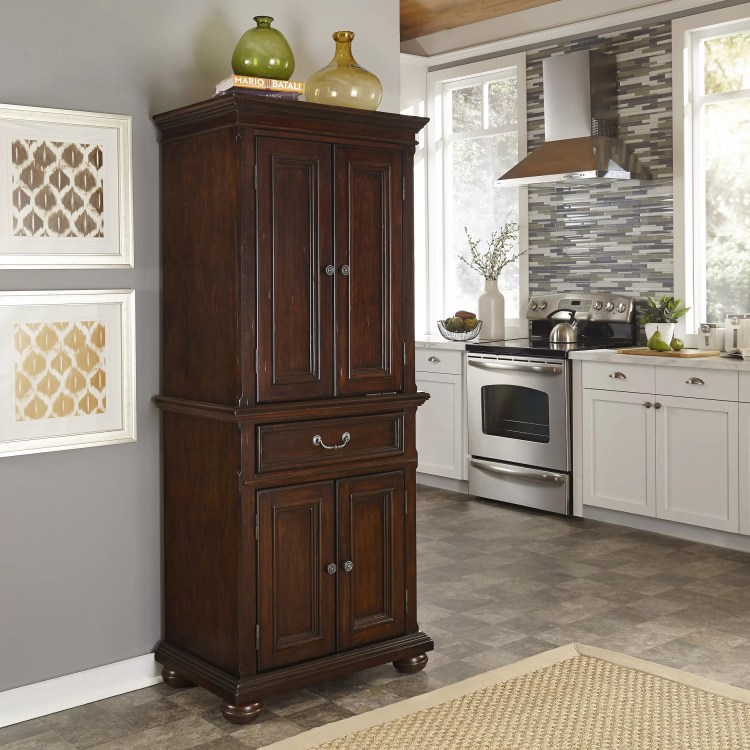 Darby Home Co Givens 72 Kitchen Pantry Reviews Wayfair