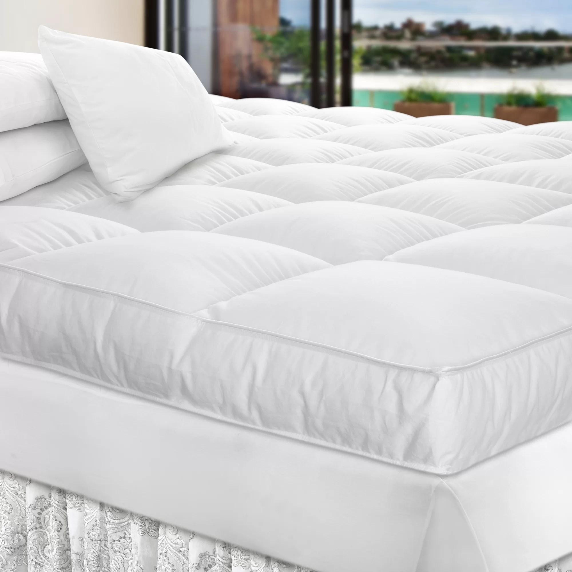 goose down mattress topper