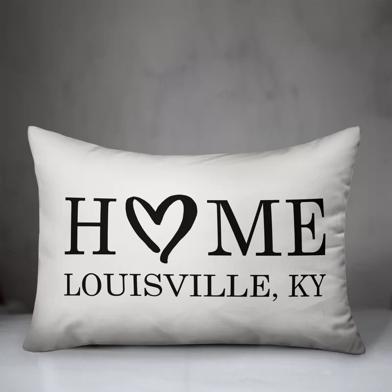roesler home heart personalized outdoor lumbar pillow