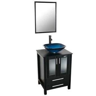 masuma 24 single bathroom vanity set with mirror