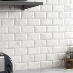 Elitetile Karra Carrara 3 X 6 Subway Tile In White Marble Reviews
