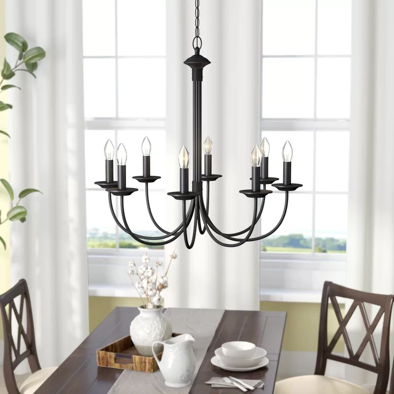 shaylee 8 light candle style empire chandelier