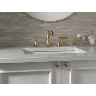 3 hole gold bathroom sink faucets you