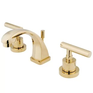 manhattan widespread bathroom faucet with drain assembly